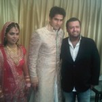 Rahul Gandhi blessed the newly-wed Vijender and Archana
