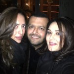 Preity Zinta Spotted @ Milan Fashion Week