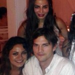 Ashton Kutcher Danced @ Ayesha & Nikesh's Sangeet Ceremony