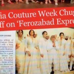 India Couture Week Took-Off On 'Ferozabad Express'