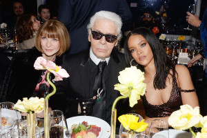 FENDI for Karl Lagerfeld, Anna Wintour and Rihanna_NY Boutique Opening